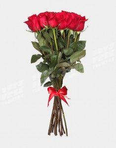 Букет из 25 роз Фридум