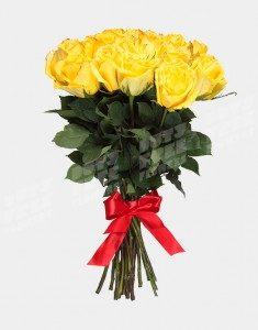 Букет из 25 роз сорта Мохана