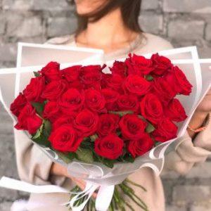 Евро букет из 41 розы