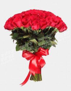 Букет из 51 розы Фридом