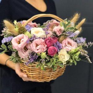 Корзина цветов Вдохновение