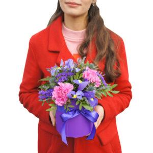"""Цветы в коробке """"Принцесса София"""""""