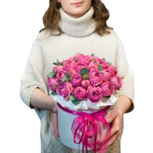 """Цветы в коробке """"Мисти баблс"""""""
