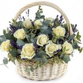 """Корзина цветов """"Седьмое небо"""""""