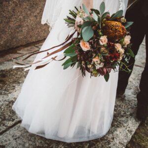 Свадебный букет №6