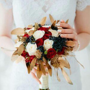 Свадебный  букет №16
